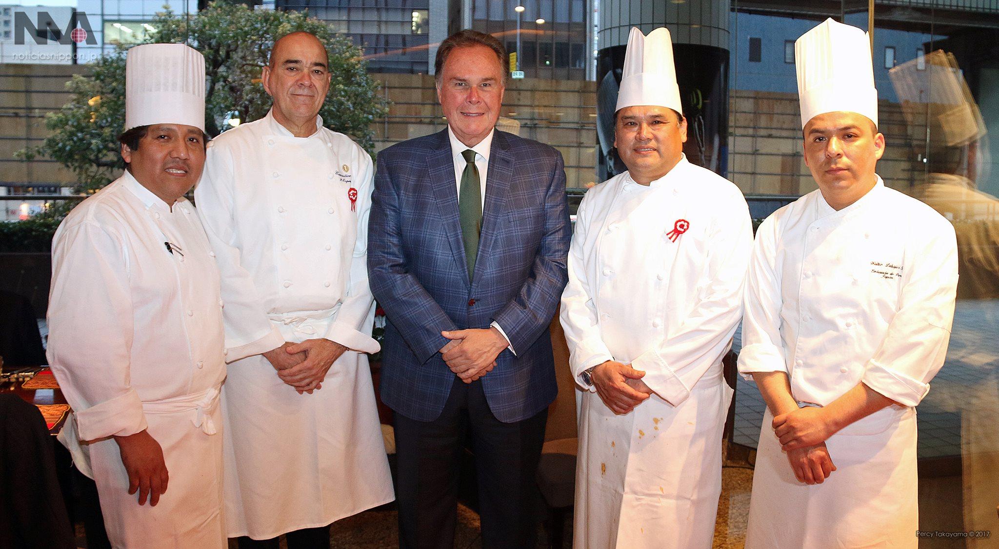 ANAインターコンチネンタルホテル東京にて、南米ペルー料理ブッフェ開催
